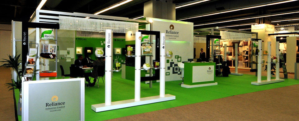Exhibition Stall Background : Exhibition stall design and fabrication for india
