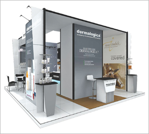 exhibition stand for jewellery shows