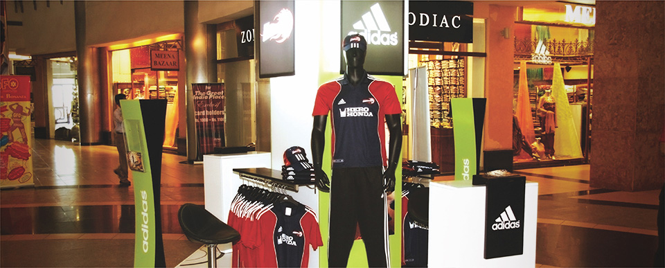 Mall Activation of Adidas