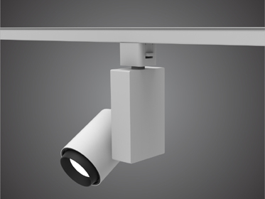 Track Light for Modular Exhibition Systems