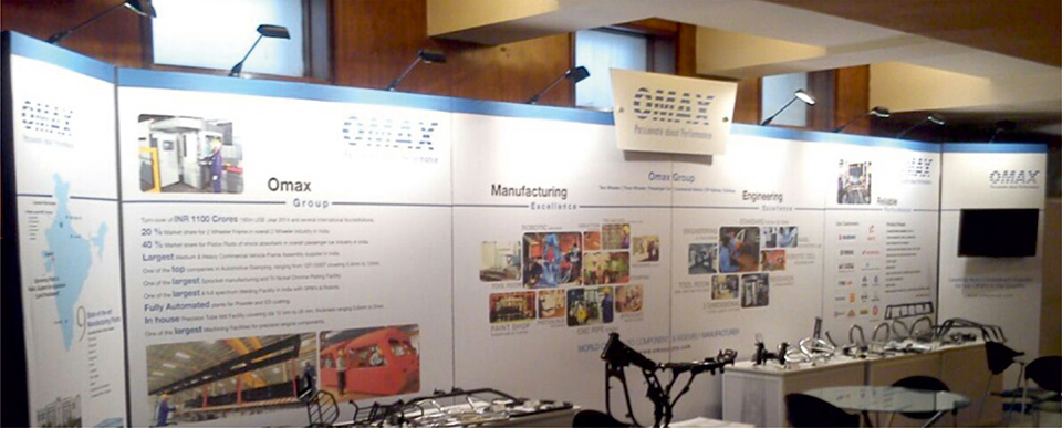 Insta Portable Exhibition Kit : Portable exhibition solution and modular solutions