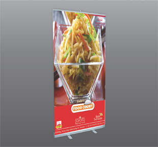 Roll up Standard Banner Stand