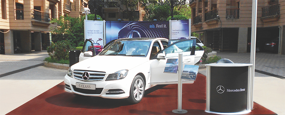 Society Activation for Mercedes Benz