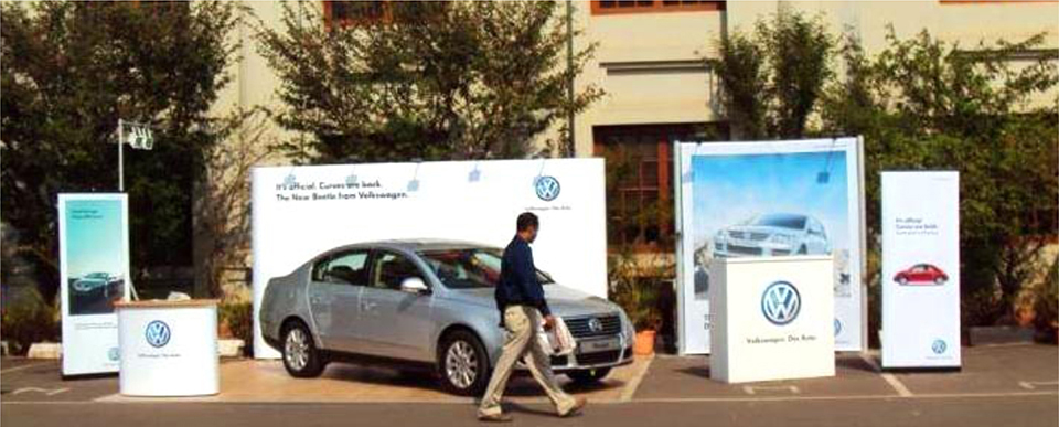 Society Promotion Activation of Volkswagen