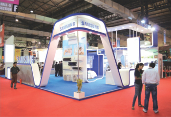 Exhibition Stall Measurements : Get exhibition solutions for different types of stalls in exhibition