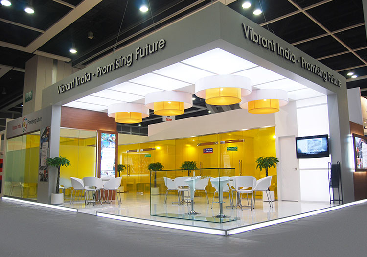 Exhibition Stall Design For Indian Bankng Association