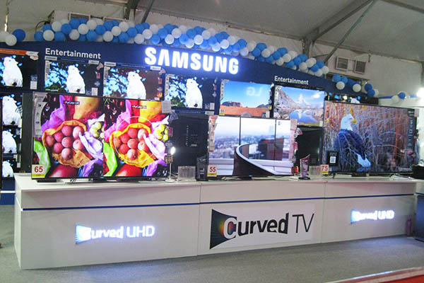 Exhibition Stall In Usa : Samsung iicf