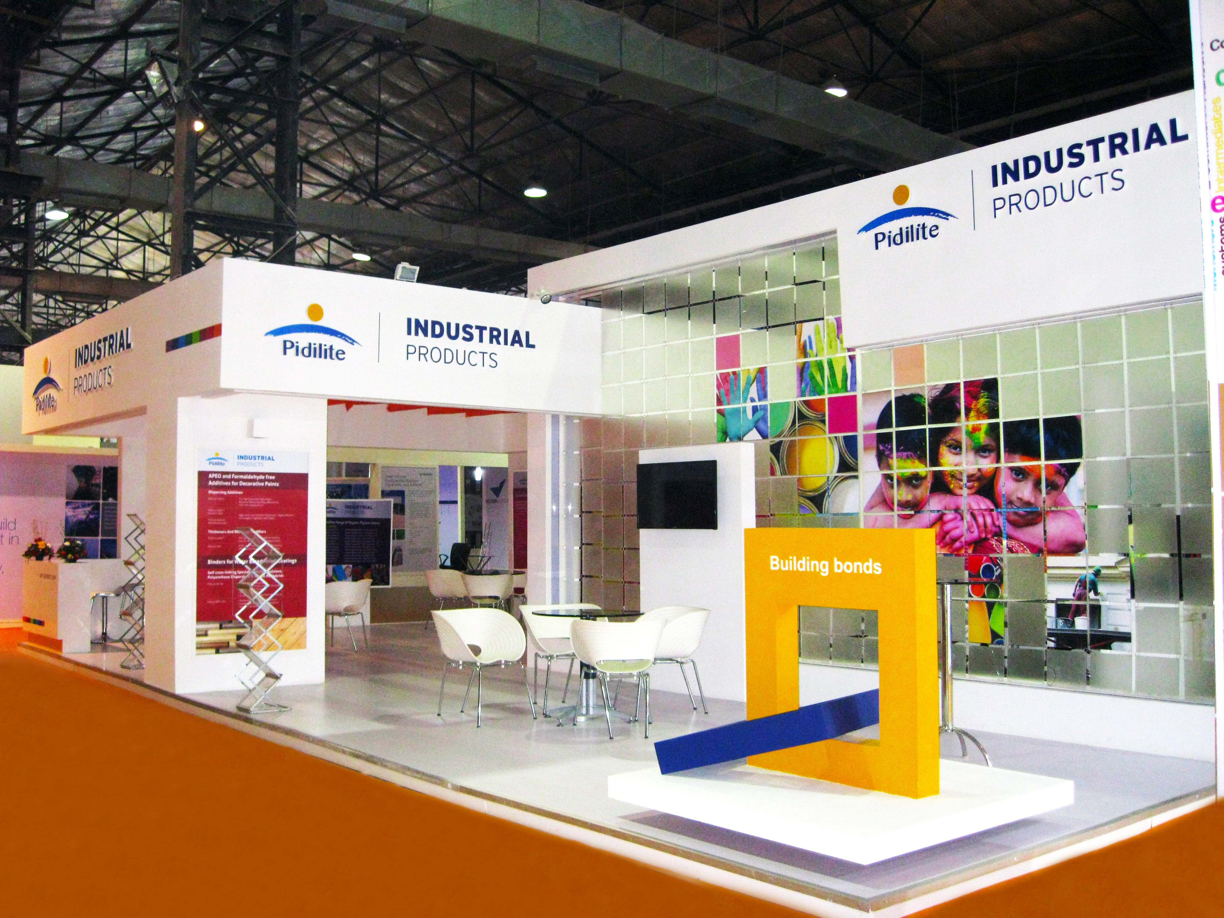 Exhibition Stall In Usa : Pidilite industries paint india