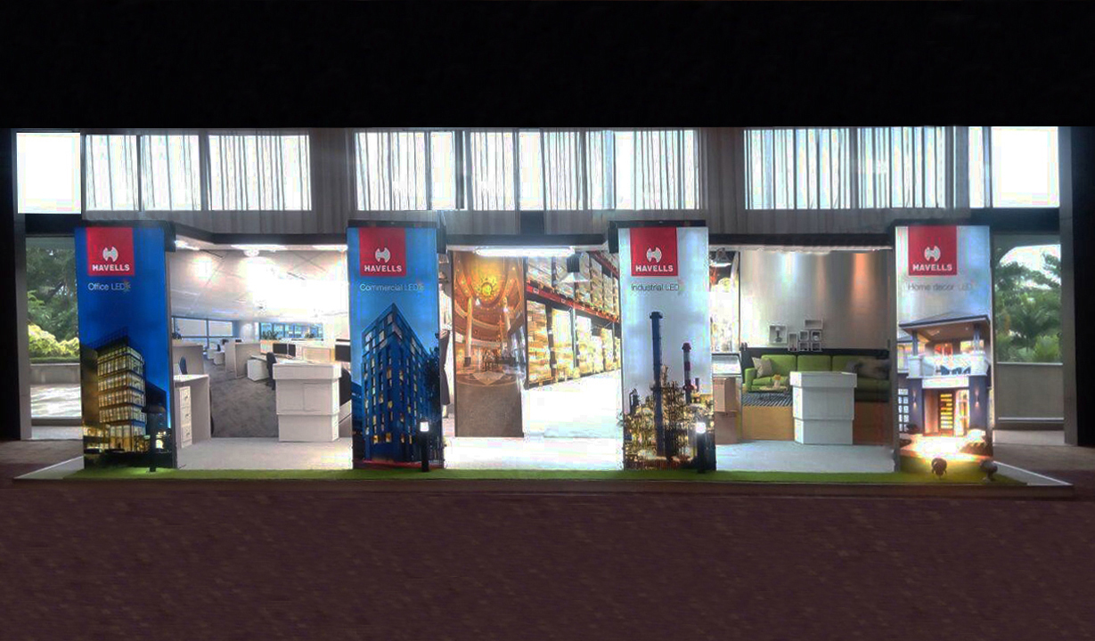 Exhibition Stall Design for Havells