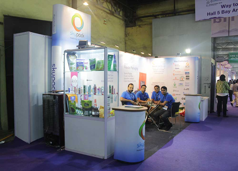 Portable Exhibition Stall : Modular and portable exhibition stall portfolio
