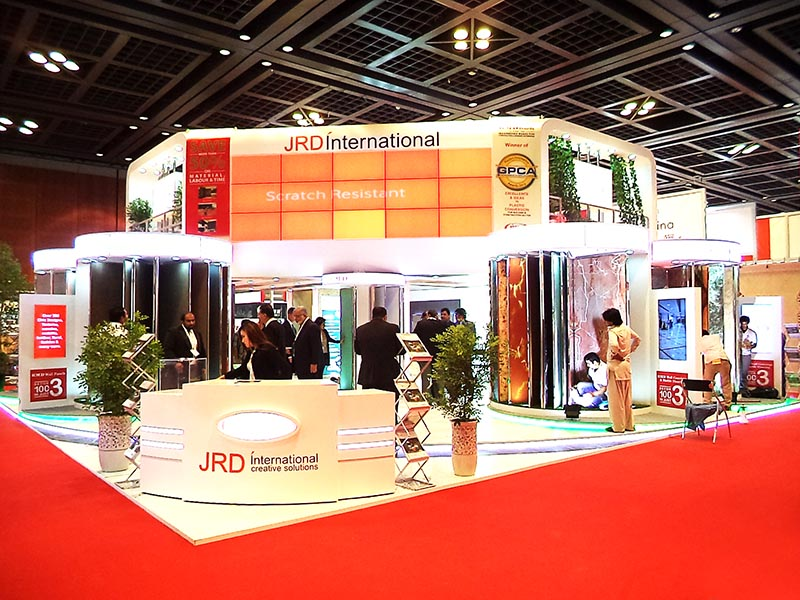 Exhibition Stall In Usa : Jrd international big