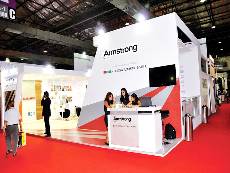 Exhibition Stall In Usa : Armstrong et acetech