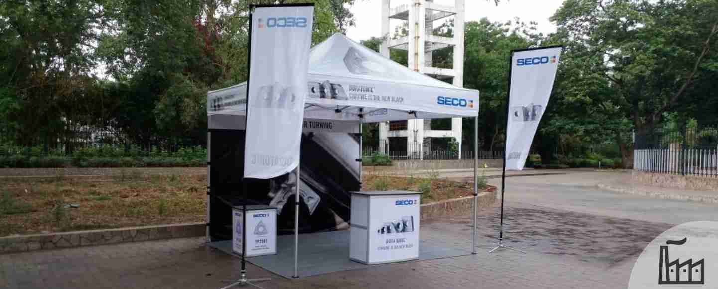 Seco Tools Outdoor Marketing