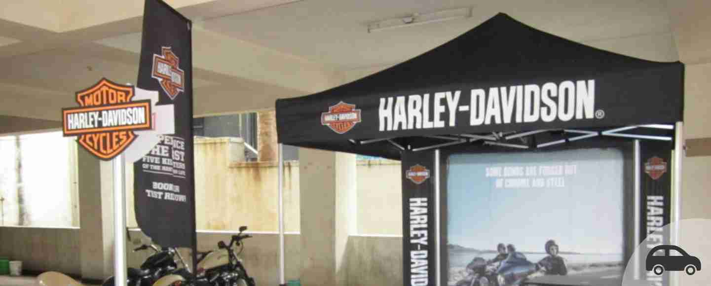 Harley Davidson Outdoor Dealership Activation