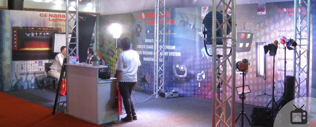 Canara Lighting Portable Exhibition Stand