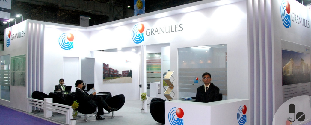 Granules Custom Exhibition Stand