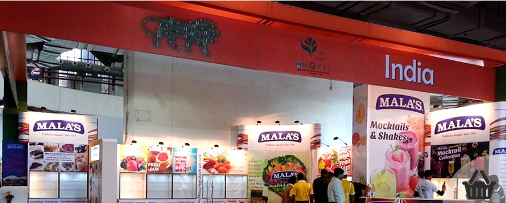 Mala's Fruits Exhibition Stall