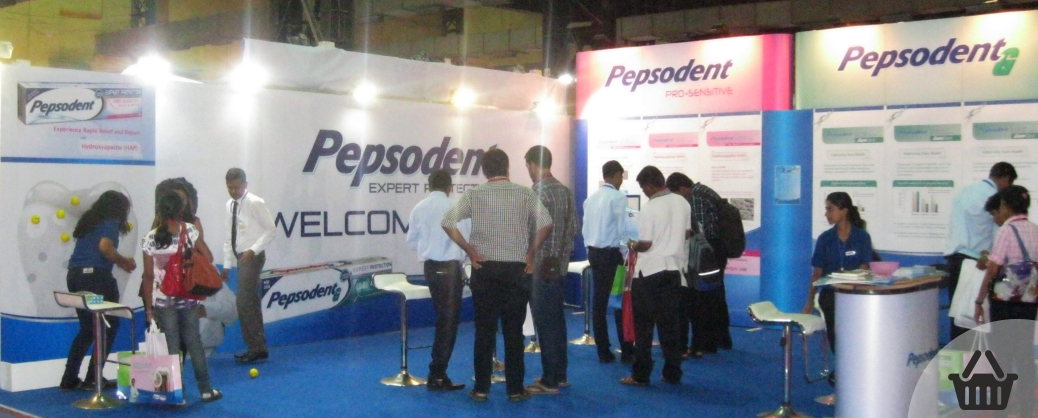 Exhibition Stall Case Study : Case study for pepsodent modular exhibition stall