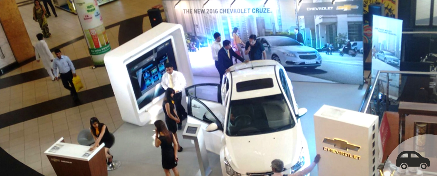 Chevrolet Mall Activation