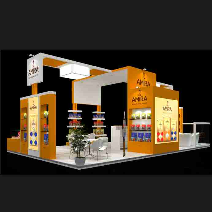 Exhibition Stall Case Study : Case study for custom exhibition stall portable