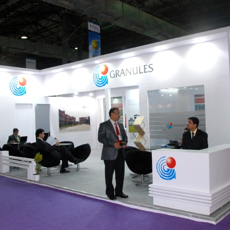 Granules Exhibition Stand