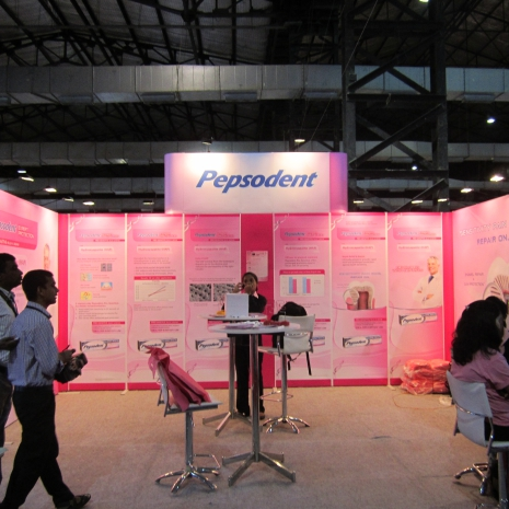 Pepsodent Modular Exhibition Stand