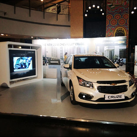 Mall Activation for Chevrolet