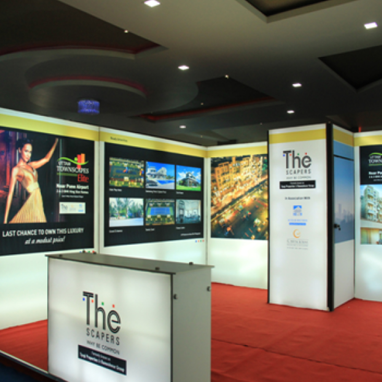 The Scrapper Backlit Exhibition Solution