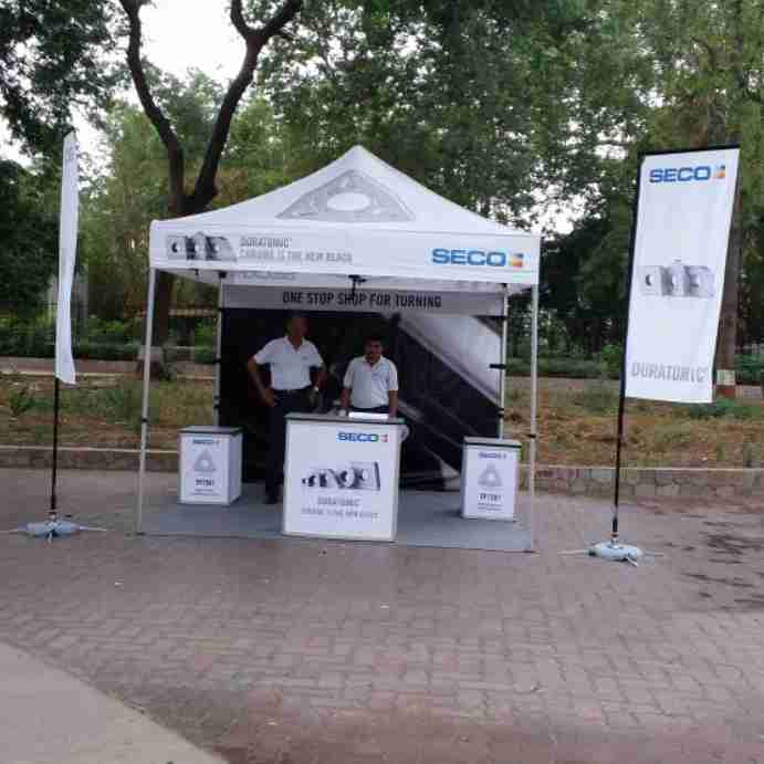 Seco Tools Outdoor Brand Activation
