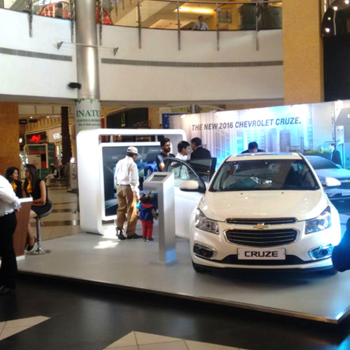 Chevrolet Mall Promotion Activities